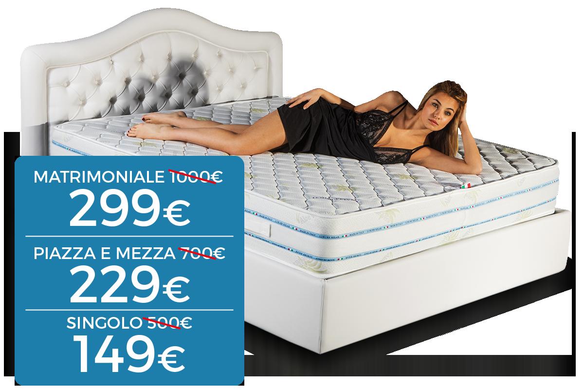 Materassi Prezzi Fabbrica.Luxury Relax